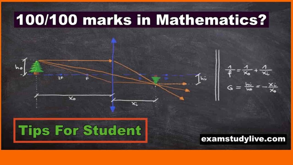 how to score good marks in maths 9 simple tips 1