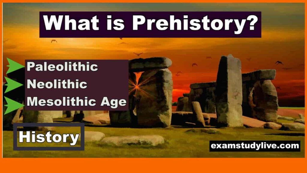 what is prehistory paleolithic neolithic mesolithic age notes