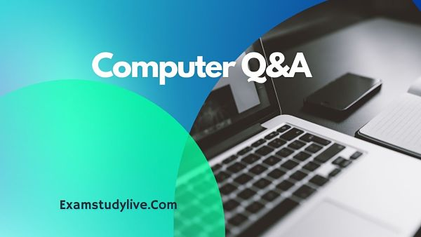 computer mcq question and answer