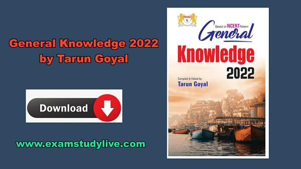 tarun goyal gk book 2022 pdf